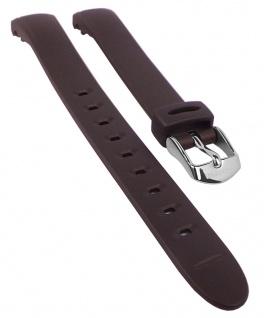 Calypso Watches Uhrenarmband Ersatzband Kunststoff Band braun schimmernd für Modell K5677/6