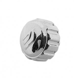 Casio Edifice Edelstahl Krone Uhrenkrone silbern für EF-552PB 10330400