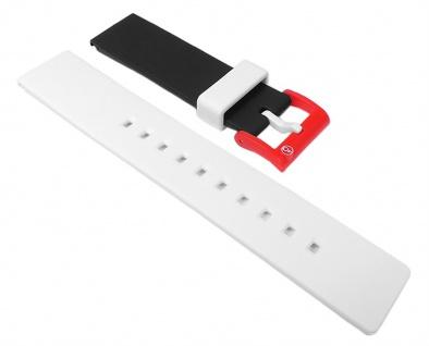 Q&q SmileSolar Ersatzarmband Uhrenarmband Kunststoff Band 20mm 26512