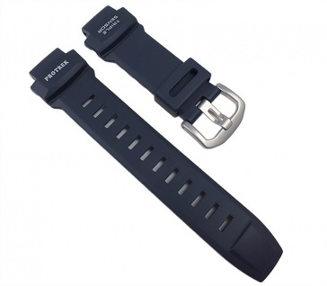 Casio Uhrenarmband Resin Band Dunkelblau für PRG-550-2 PRG-550 PRG-260