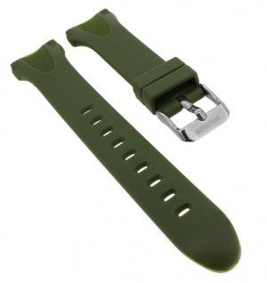 Calypso Uhrenarmband grün Band aus Kunststoff mit Breitdornschließe K5741/7