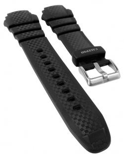 Calypso Chrono Ersatzband Kunststoff schwarz Schließe silberfarben Spezial Anstoß K5683/1 K5683