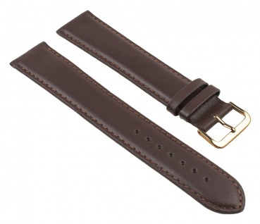 Uhrenarmband Leder Band Braun XXL 25783G