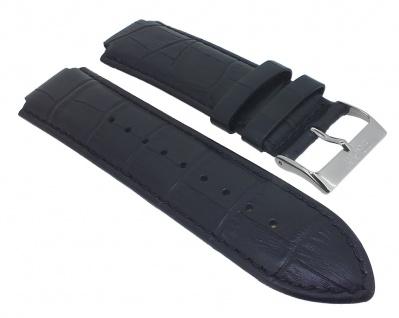 Esprit Ersatzband Leder Krokoprägung schwarz ES000T31021 T31021