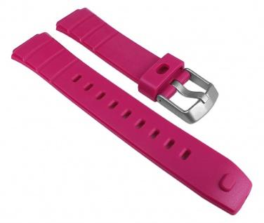 Timex Ironman Uhrenarmband PU Band Wasserfest Pink für T5K761, T5K762, T5K763