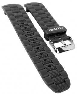 Calypso Uhrenarmband Kunststoff Band grau Schließe silbern K6062 K6062 /1