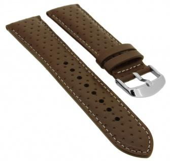 Casio Edifice Ersatzband 22mm braun Uhrenarmband Leder Band EFV-550L-5AVUEF