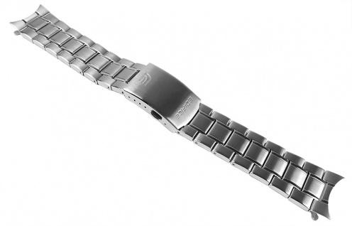 Casio Uhrenarmband Edelstahl Band Silberfarben für EFR-510D EFR-510
