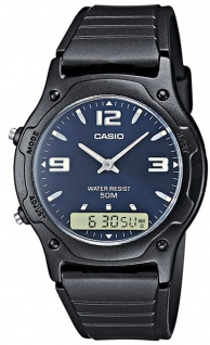 Casio Unisex-Armbanduhr Casio Collection AW-49HE-2AVEF