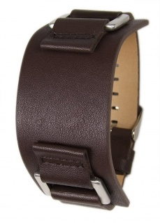 Uhrenarmband Leder Band Unterlageband 20mm dunkelbraun s.Oliver SO-1642-LQ