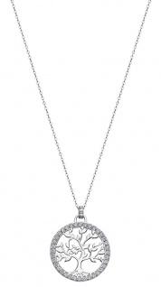 Lotus Silver Halsschmuck Collier Kette mit Lebensbaum Anhänger Silber LP1746-1/1