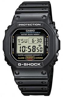 Casio G-SHOCK Herrenuhr Armbanduhr DW-5600E-1VER Stoppfunktion