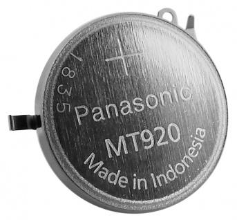 Panasonic Knopfzelle mit Fähnchen Akku / Batterie Kondensator Seiko 3023-24T