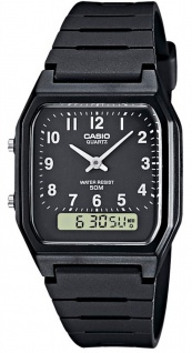 Casio Collection Herrenuhr ana - digi AW-48H-1BVEF