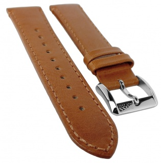 Hugo Boss Black 1513331 | Uhrenarmband 22mm Leder Band, braun 31375