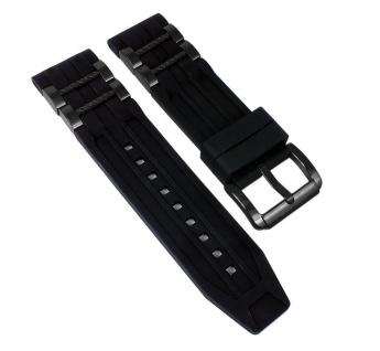 Police Matchcord Uhrenarmband aus Kautschuk-Edelstahl 24mm für P14541JSB/02PA