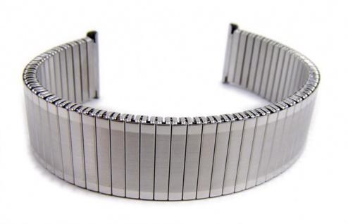 Minott Flex Uhrenarmband Edelstahl Ersatzband Zugband 20mm 21042S