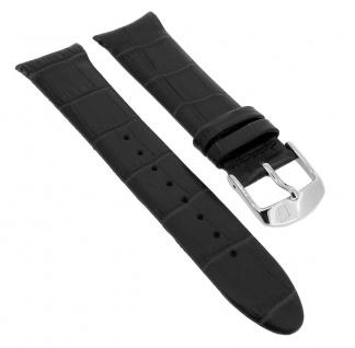 Festina Herren Uhrenarmband Ersatzband aus Leder in schwarz ? F16980/1 ? F16980/4