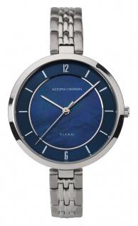 Adora Titan Damenarmbanduhr | Titanband- & Gehäuse | blaues Ziffernblatt Ø 38mm | 5bar 33314