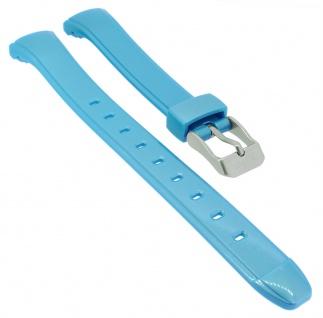 Calypso Digital Uhrenarmband Kunststoff blau Schließe silberfarben K5738/3 K5738