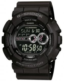Casio G-Shock schwarz Armbanduhr Herren Digital GD-100-1BER