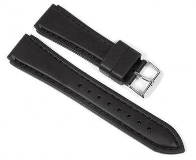 Minott Uhrenarmband Silikon Band schwarz 23193