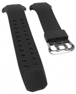 Ersatzband für Casio Uhrenarmband aus Resin schwarz GW-056BJ XL-Länge