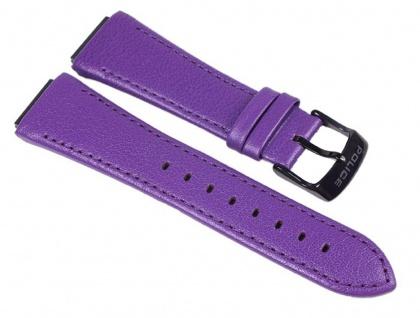 Police Uhrenarmband Leder Violett für Damen Uhr Sphere X P.12778