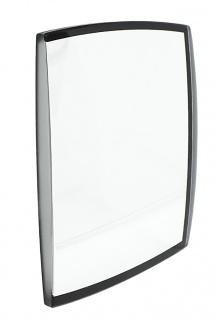 Festina Mineralglas Uhrenglas Ersatzglas viereckig schwarzer Rand F6729