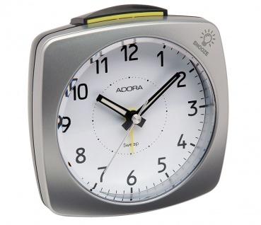 Adora Quarzwecker | Crecsendo Blinklicht-Alarm Snooze schleichende Sekunde 33484 - Vorschau