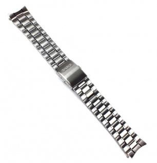 Casio Uhrenarmband Edelstahl Band Silberfarben MTD-1059D