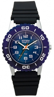Adora Young Line Armbanduhr Analoguhr Sportuhr für Kinder aus Aluminium mit Kunststoffband 33140