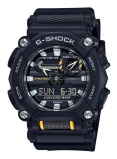 Casio G-Shock Analog /Digital Herrenuhr Resin Illuminator Stoßfest GA-900-1AER