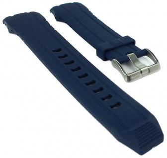 Calypso Ersatzband blau Kunststoff Dornschließe silbern Spezial Anstoß K5697/4 K5697