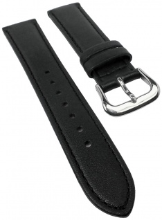 Uhrenarmband für Casio Sheen Herrenuhr SHE-5020BL Leder schwarz 18mm