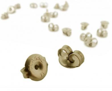 Minott Erstohrstecker Stopper - Ohrstecker-Verschluss - Ohrmutter aus Titan in blassgold- 29068