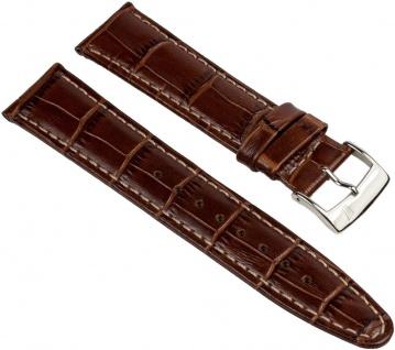 Festina Uhrenarmband Leder Band 21mm Braun in Kroko-Optik für F16372/3