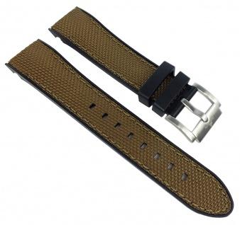 Adora Nautic Ersatzband braun Kunststoff Band Nylonband AN2143 AN2144 AN2145