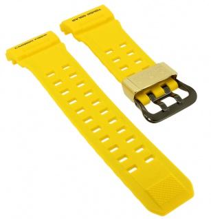 Casio G- Shock Protection Ersatzband gelb Resin Band schwarze Schließe GW-9430EJ-9