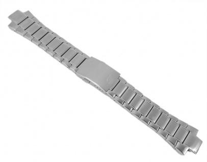 Casio Armband Uhrenarmband Edelstahl Band Silberfarben für Edifice EFA-129D