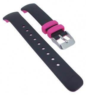 Calypso Ersatzband schwarz / pink Kunststoff Spezial Anstoß K5777/8 K5777