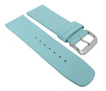 Graf Manufaktur Spree Damen Uhrenarmband Leder Band Hellblau 27100S