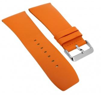 Bruno Banani Ersatzband 34mm orange glatt Leder DT6 100 304 DT6 102 302 DT6 900 308