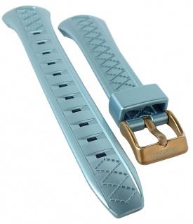 Calypso Ersatzband Kunststoff blau Schließe rosefarben Spezial Anstoß K5668/3
