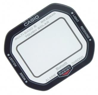 Casio Mineral Ersatzglas mit Aufdruck GW-B5600 GW-B5600HR-1 GW-B5600HR