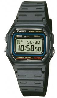 Casio Collection Tagesalarm, Stoppfunktion - 1/100 Sek. - 1 Std. W-59-1VQES