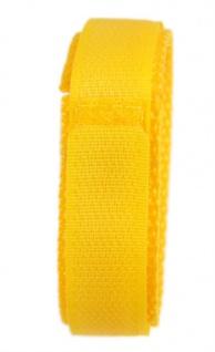 Minott Uhrenarmband Textilband Klettband Gelb 16mm