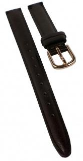 Timex Women's Easy Reader Ersatzband | Uhrenarmband 12mm | Obermaterial aus Leder, braun für T2P564