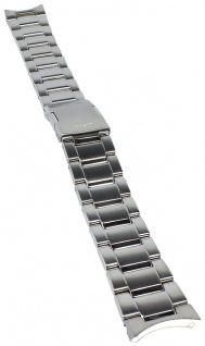 Casio Armband | Uhrenarmband Edelstahl Band Silberfarben für Collection LIW-M700D XL-Länge