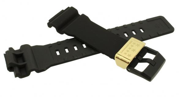 Casio G- Shock Ersatzband schwarz Resin Band Breitdornschließe GA-835A-1A GA-835A - Vorschau 2